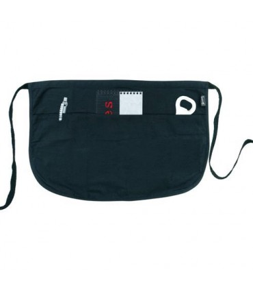Apron with 3 Pockets Black