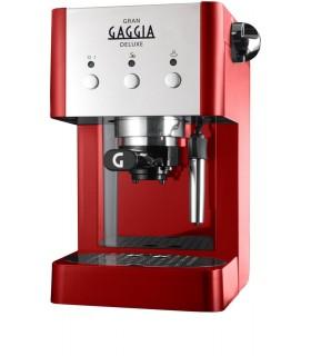 GAGGIA Gran Gaggia Deluxe Red Home Espresso Machine