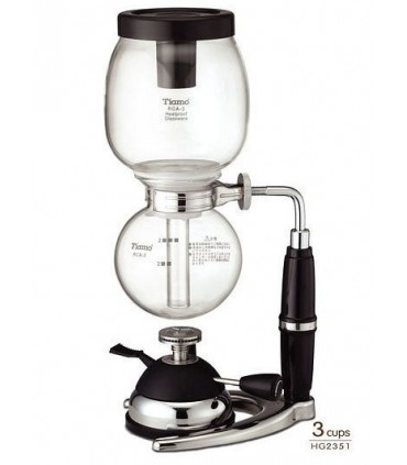 Tiamo Coffee Syphon 3 Cups with Micro Gas Burner