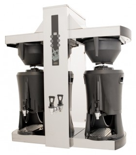 Coffee Queen Tower Filter coffee machine with vacuum thermoses
