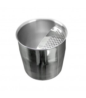 Short Jug Inox with strainer 400ml