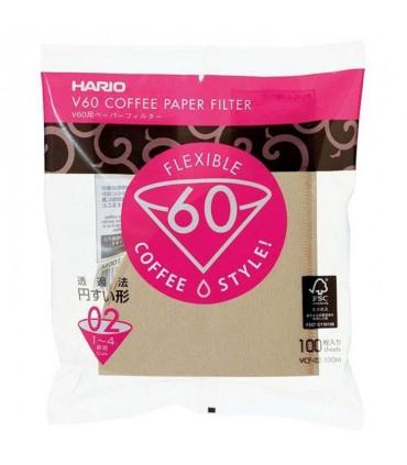 Hario Misarashi V60 02 Paper Filters - 100 sheets