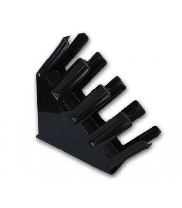 Plastic Counter Cup Holder Black