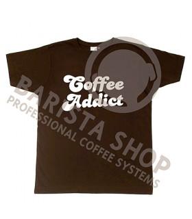 Barista Shop Coffee Addict T-shirt - Μπλουζάκι Καφέ