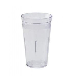 Artemis πλαστικό ποτήρι φραπιέρας κουμπωτό 900ml